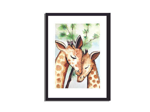 WALL ART | GIRAFFE