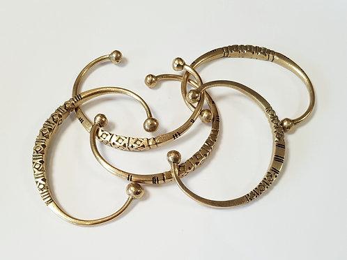 Bracelet en bronze / cuivre rose