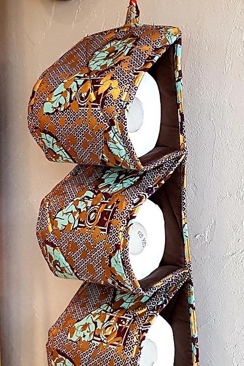 Porte-rouleaux papier toilette en wax