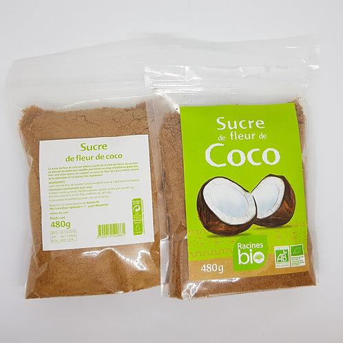 Sucre de fleur de coco bio 480g