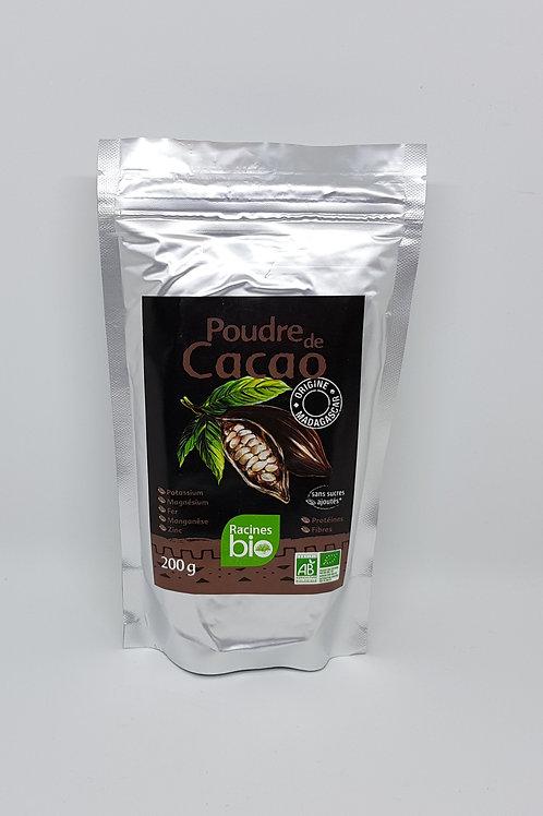 Poudre de cacao bio 200g
