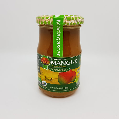 Chutney de mangues 220g