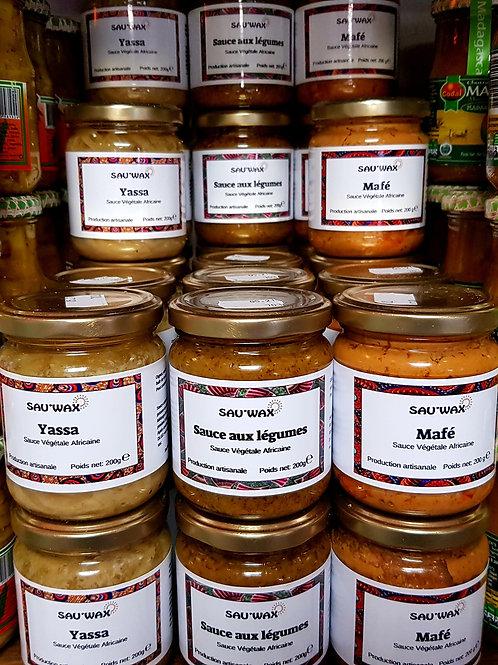 Sau'wax sauces végétales