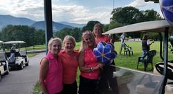 Jody Buzzells Challenge 2015 Mamas pink team