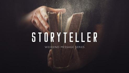 Storyteller Announcement Slide