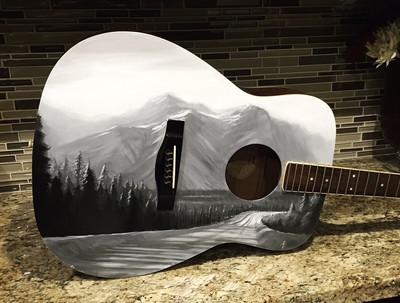 Guitar Painting 01