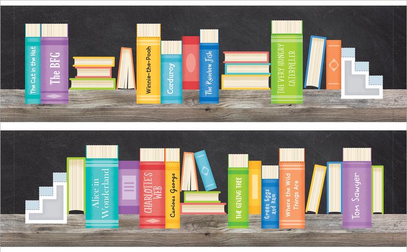 3D bookshelf (unused)