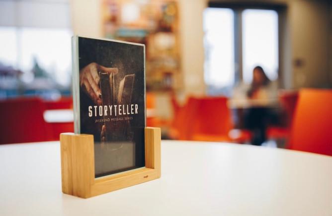 Storyteller Table Topper