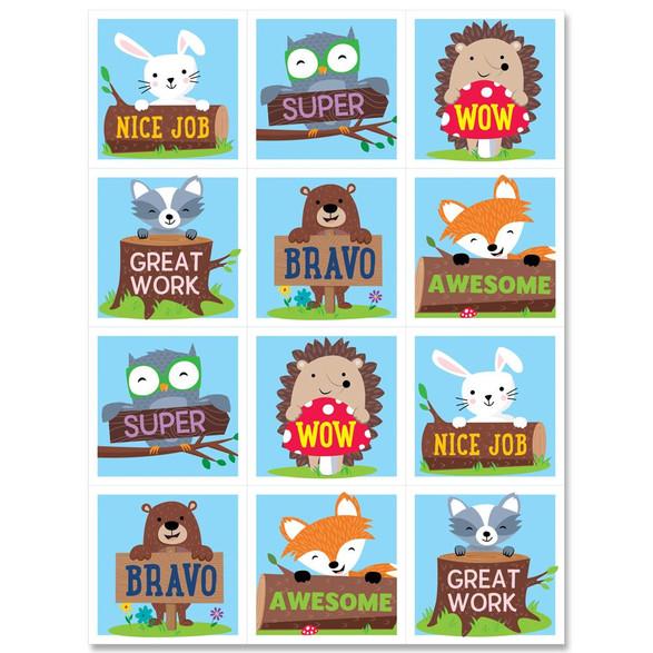 WF stickers