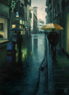 Teal Rain
