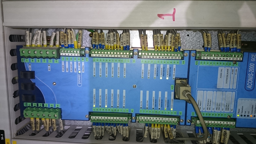 control unit of the Aconis 2000 PMS