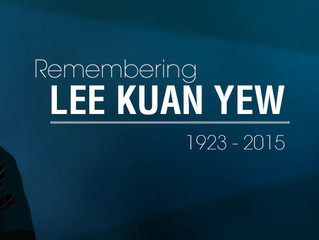Tribute to our late Mr LEE Kuan Yew