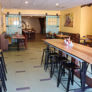 EXPANDED SPACE FOR PRIVATE GATHERINGS