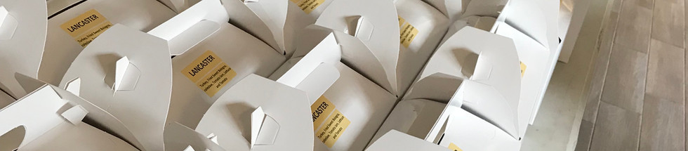 BOX LUNCES AND CATERING