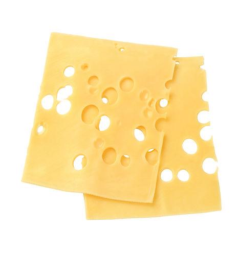 Thin slices of Swiss cheese.jpg