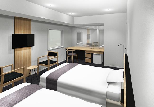 cityhotel_ツインルームパース