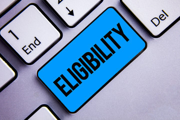 Changes to Eligibility Criteria