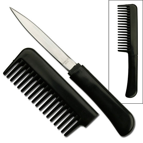 "BLACK COMB KNIFE 6.5"" OVERALL"