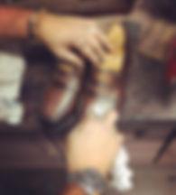 Glaçage de chaussures