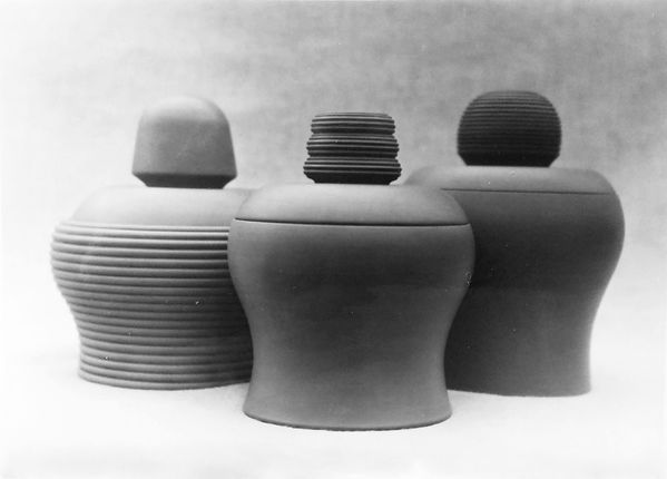 Three large pots