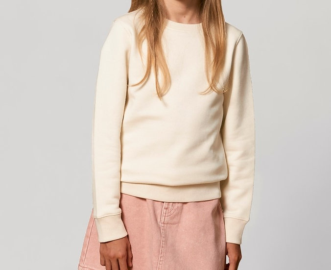 Kids Pullover, natural raw