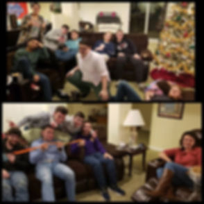 A great group of Young Adults sharing gr