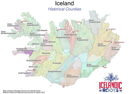 Understanding Icelandic Places - Part I