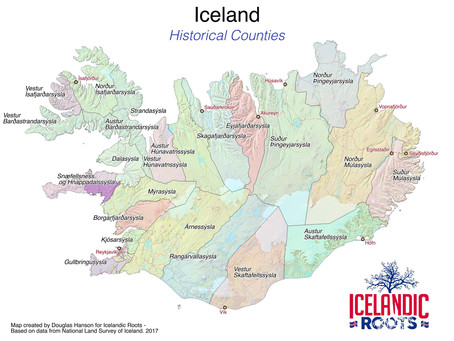 Understanding Icelandic Places - Part I