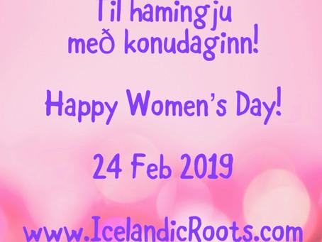 Women's Day - Konudagur