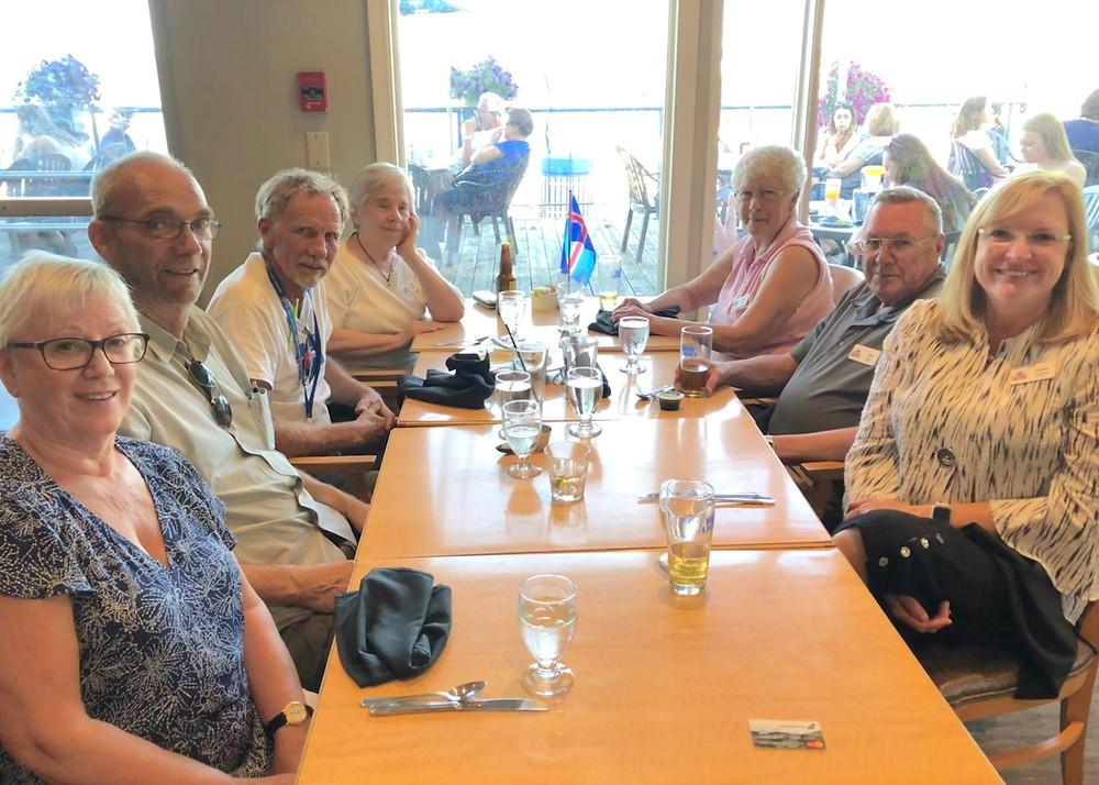 Icelandic Roots Volunteer Dinner after Islendingadagurinn