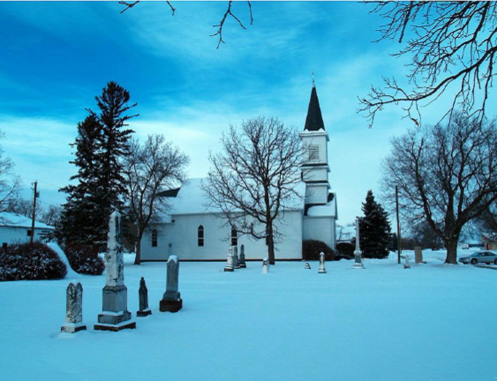 Vikur Lutheran Church Winter