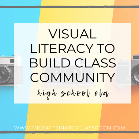 Visual Literacy to Build Class Community