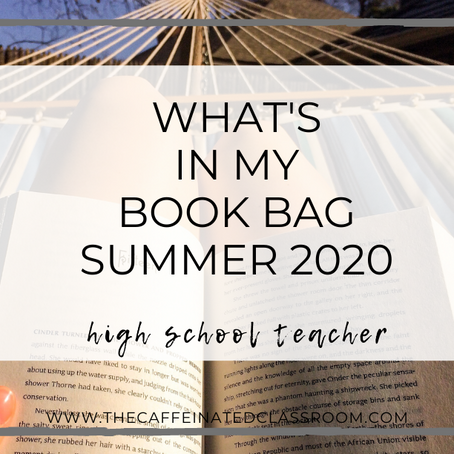 What's In My Book Bag? (Summer 2020)