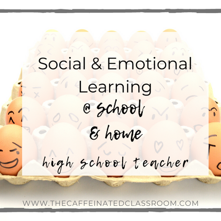 Social & Emotional Learning at School & Home