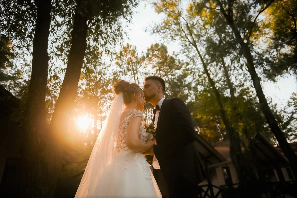 apus de soare poze nunta