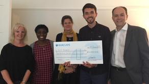 £2,000 donated by The William Low Trust to CLIC Sargent
