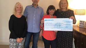 £1,000 donated by The William Low Trust to Ali's Dream