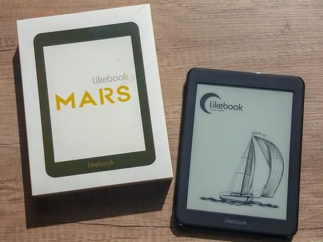 新製品 電子書籍リーダー「LikeBook Mars」取扱を開始しました!