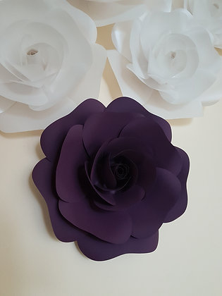 "Medium 12"" Paper Flower (Single)"