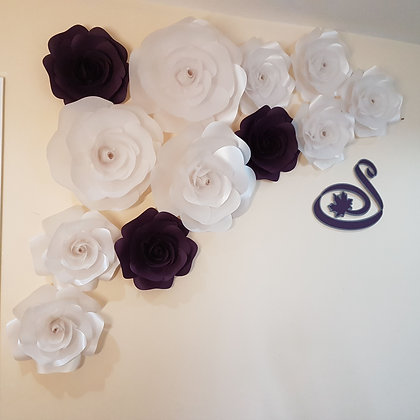 "Large 16"" Paper Flower (Single)"