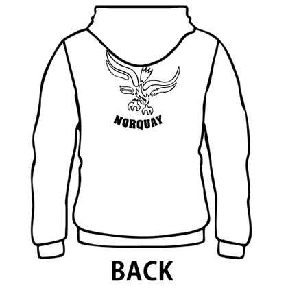 Norquay - YOUTH Zippered Hoodie