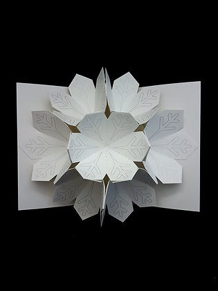 Pop-up Snowflake Card
