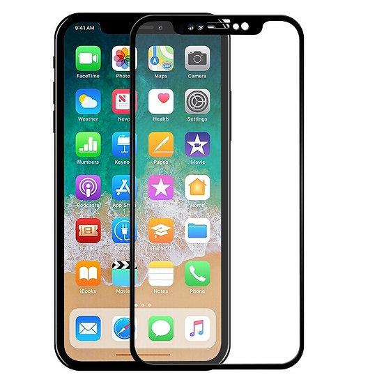 iPhone 11/XR 5D Tempered Glass (Black)(Full Glue)
