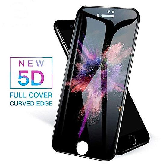 iPhone 7/8 Plus 5D Tempered Glass (Black & White) (Full Glue)