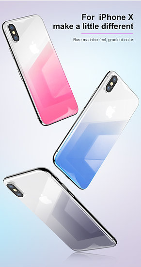 iPhone X/Xs Max Baseus Back Tempered Glass