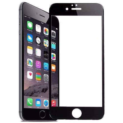 iPhone 6 5D Tempered Glass (Black & White) (Full Glue)