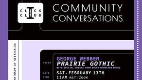 Feb 13th CLICK CLUB Conversation with George Webber & RMB