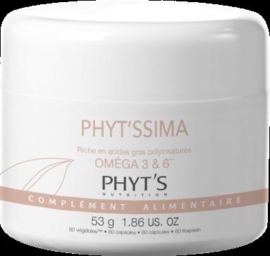 Oméga 3 + 6 Phyt's compléments alimantaire 80 gélules