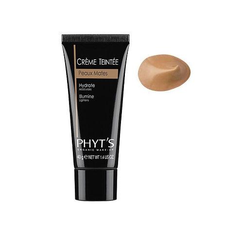 Phyts Crème teintée peaux mates Anti oxydante 40g