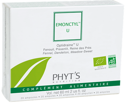 Émonctyl U drainage urinaire Phyt's 20amp. 3ml